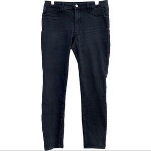 H&M Denim Skinny Regular Ankle Jeans Black Size 29